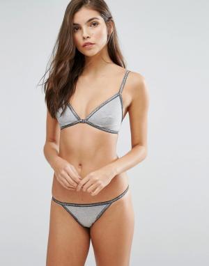 Calvin Klein Подарочный набор нижнего белья CK. Цвет: серый