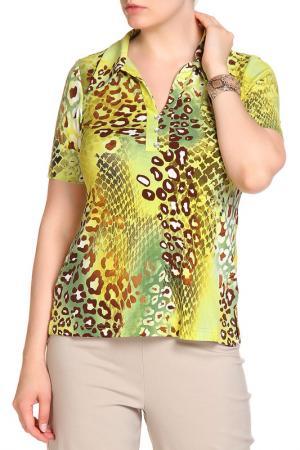 Блуза COUTURE LINE. Цвет: зеленый