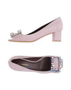 Туфли BRUNO MAGLI. Цвет: светло-розовый