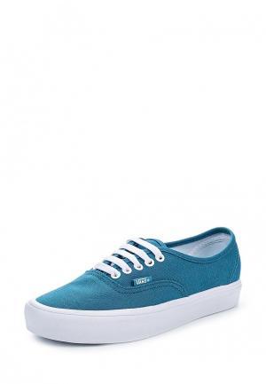 Кеды Vans. Цвет: голубой