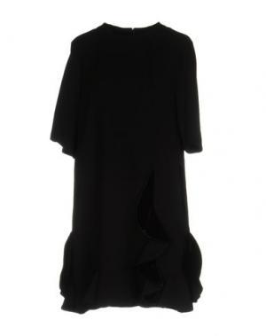Короткое платье STEVE J & YONI P. Цвет: черный