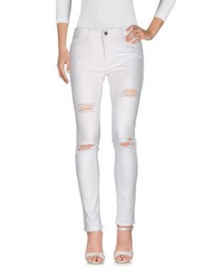 Джинсовые брюки ST. STUDIO. Цвет: белый