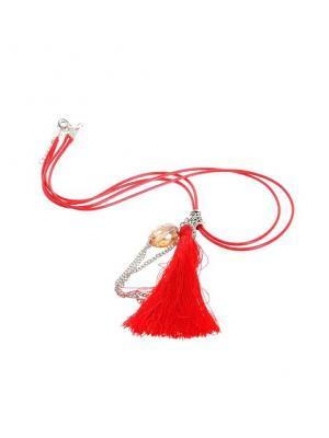 Ожерелье NeKi. Цвет: светло-серый, красный