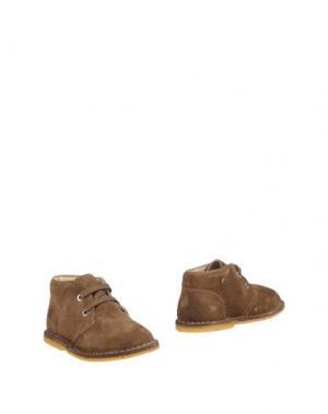 Полусапоги и высокие ботинки NATURINO. Цвет: хаки