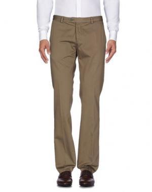 Повседневные брюки NARDELLI. Цвет: зеленый-милитари