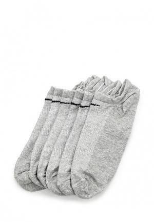 Комплект носков 6 пар Nike. Цвет: серый