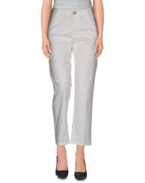 Повседневные брюки E_GO' SONIA DE NISCO. Цвет: белый