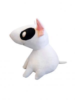 Собачушка Бультерьер Играмир. Цвет: белый, бледно-розовый, черный