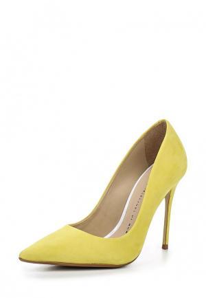 Туфли Bronx. Цвет: желтый