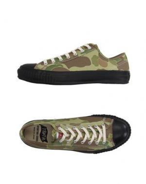 Низкие кеды и кроссовки TSPTR. Цвет: светло-зеленый