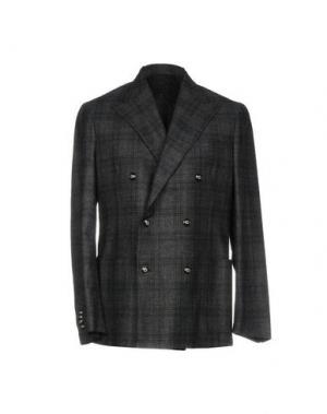 Пиджак BARBA Napoli. Цвет: свинцово-серый