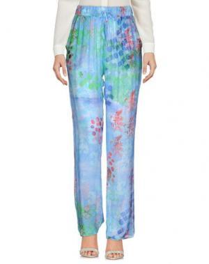 Повседневные брюки MOSAIQUE. Цвет: небесно-голубой