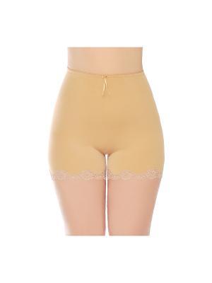 Панталоны QueenTechMagic. Цвет: бежевый