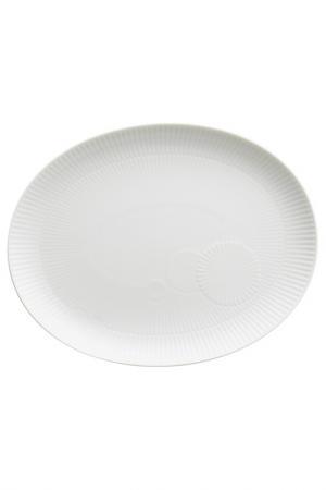Блюдо овальное, 28 см KAHLA. Цвет: белый