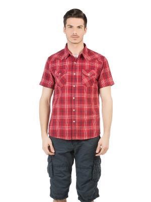 Рубашка Colin's. Цвет: красный