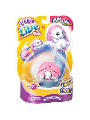 Интерактивный ежик Princess Little Live Pets Moose. Цвет: розовый