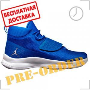 Кроссовки Jordan. Цвет: голубой