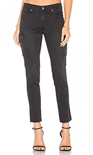 Джинсы-карго по щиколотку twiggy James Jeans. Цвет: none