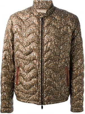Куртки Moncler W. Цвет: коричневый