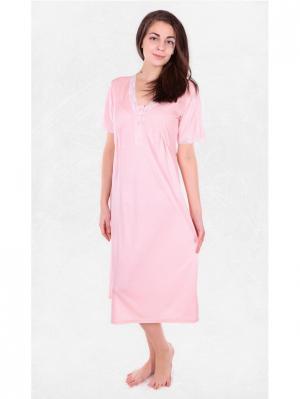 Сорочка Alfa. Цвет: розовый