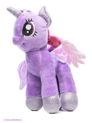 Мягкая игрушка Мульти Пульти пони Искорка Мульти-пульти. Цвет: сиреневый