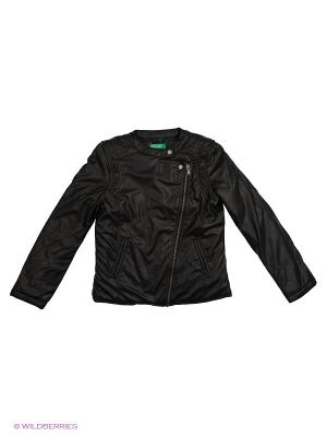 Куртка United Colors of Benetton. Цвет: черный