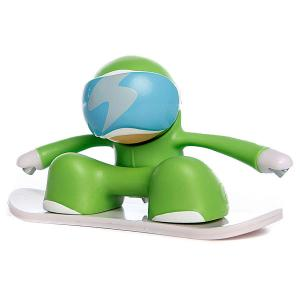 Игрушка  Snowboarder Green Chuckbuddies. Цвет: зеленый