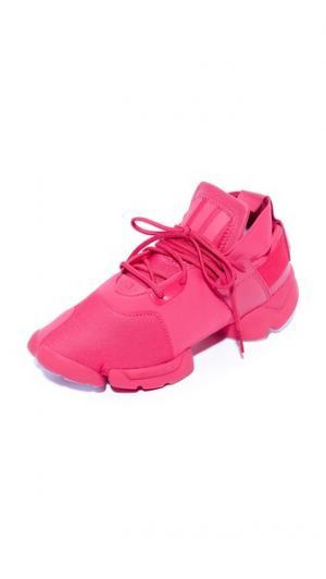 Кроссовки  Kydo Y-3. Цвет: ярко-розовый