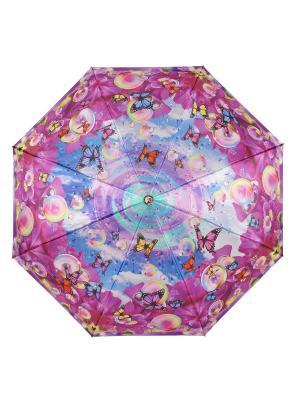 Зонт Shangri La DAIS. Цвет: синий, фуксия