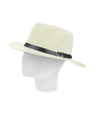 Шляпа Gusachi. Цвет: бежевый, черный