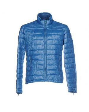 Куртка CENSURED. Цвет: пастельно-синий