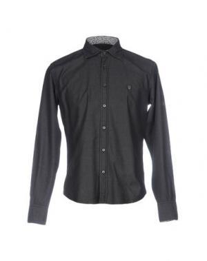 Джинсовая рубашка PANAMA. Цвет: свинцово-серый