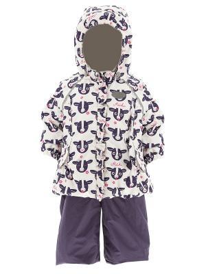 Комплект одежды REIKE. Цвет: белый
