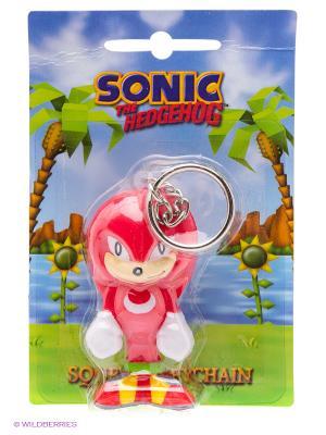 Брелок Наклз Knuckles (Sonic the Hedgehog) Sonic. Цвет: красный