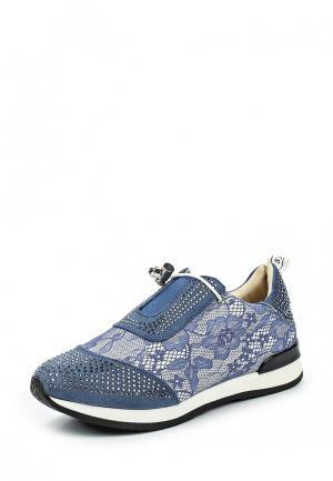 Кроссовки Damerose. Цвет: синий