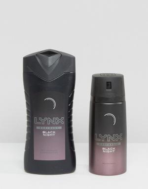 Lynx Подарочный набор из двух средств Black Night. Цвет: мульти