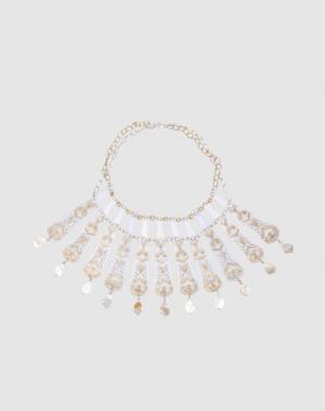 Ожерелье CARMINA CAMPUS. Цвет: белый
