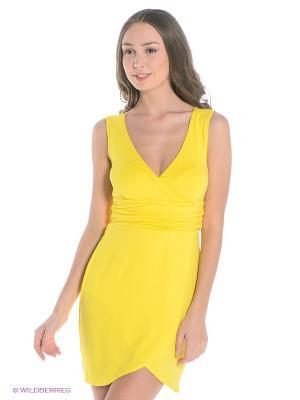 Платье Sport Vision. Цвет: желтый