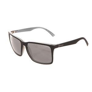 Очки  Lesmore Black Satin/Grey Chrome Von Zipper. Цвет: серый