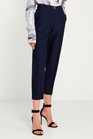 Однотонные брюки KENZO. Цвет: синий