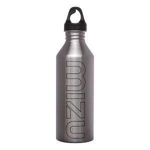 Бутылка для воды  M8 800ml Stainless Black Print Mizu. Цвет: серый