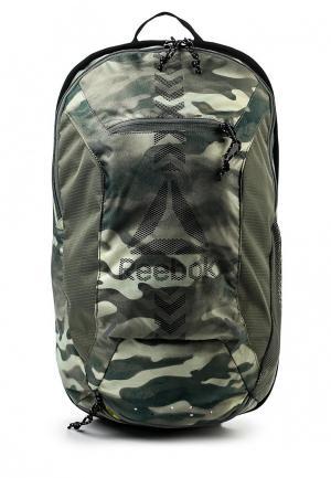 Рюкзак Reebok. Цвет: хаки
