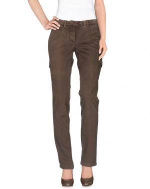 Повседневные брюки PIATTO. Цвет: коричневый