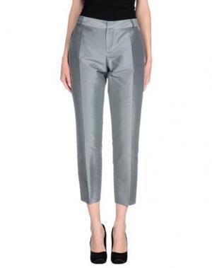 Повседневные брюки FABRIZIO LENZI. Цвет: серый