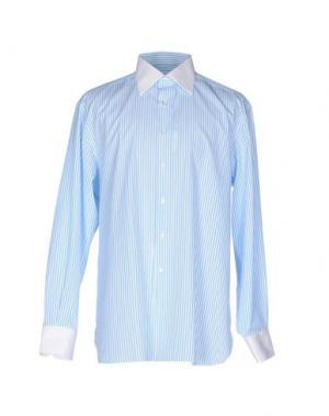 Pубашка STEFANO RICCI. Цвет: лазурный