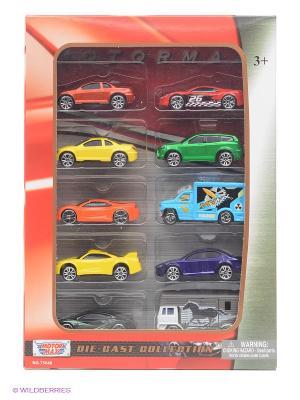 Набор моделей нелицензионных машинок Die Cast Motormax. Цвет: красный