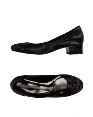 Туфли LORETTA PETTINARI. Цвет: черный
