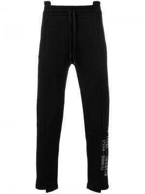 Спортивные брюки Fire Omc. Цвет: чёрный