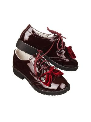 Ботинки Stilnyashka. Цвет: бордовый
