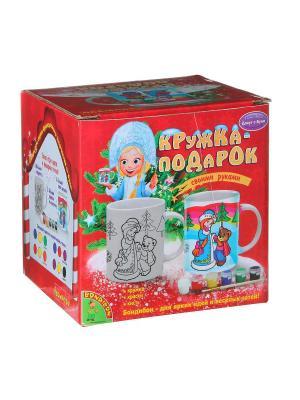 Набор для творчества BondibonКружка-подарок BONDIBON. Цвет: красный